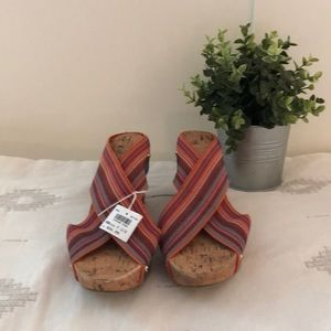 Bright colored Summer wedges!